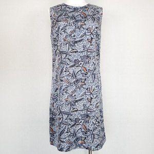 Tory Burch Blue Paisley Dress